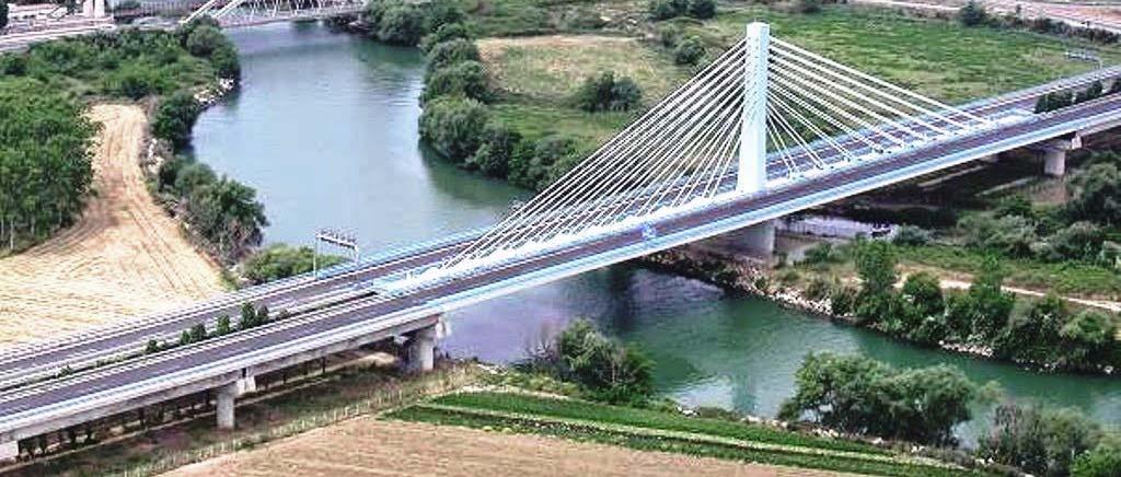 Rifacimento dell'impermeabilizzazione e sostituzione dei giunti Ammalorati dell'impalcato del ponte strallato sul fiume del garigliano
