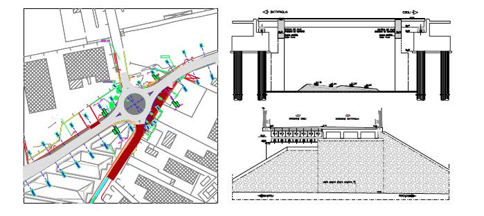 Soluzioni migliorative per l'accessibilita' alle aree di localizzazione dell'impianto stir di Battipaglia [sa]