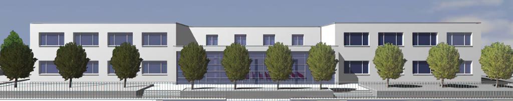 """Intervento di demolizione e ricostruzione della scuola media """"m. Pironti"""""""