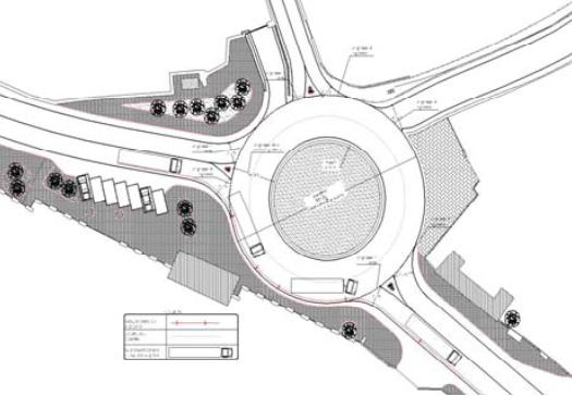 """Progettazione definitiva ed esecutiva dei lavori per il miglioramento della sicurezza stradale mediante l'inserimento di una rotatoria all'uscita dello svincolo """"lago d'Averno"""" al km. 54+660 di innesto sulla via Domitiana"""
