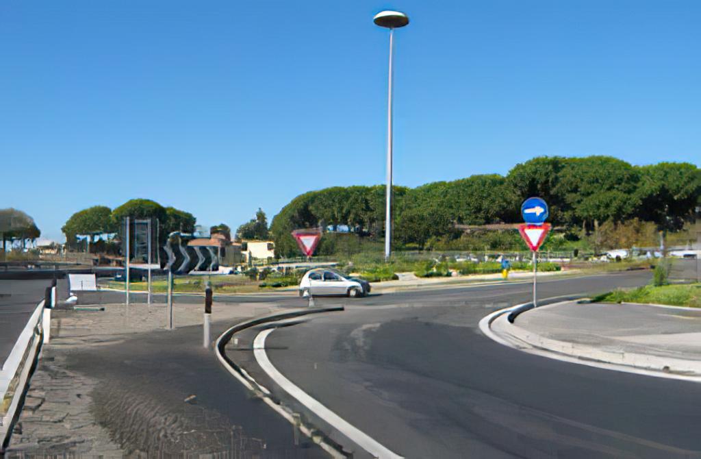 Progetto stradale, idraulico e strutturale dell'asse viario di collegamento tra via s. Elena e via scappi