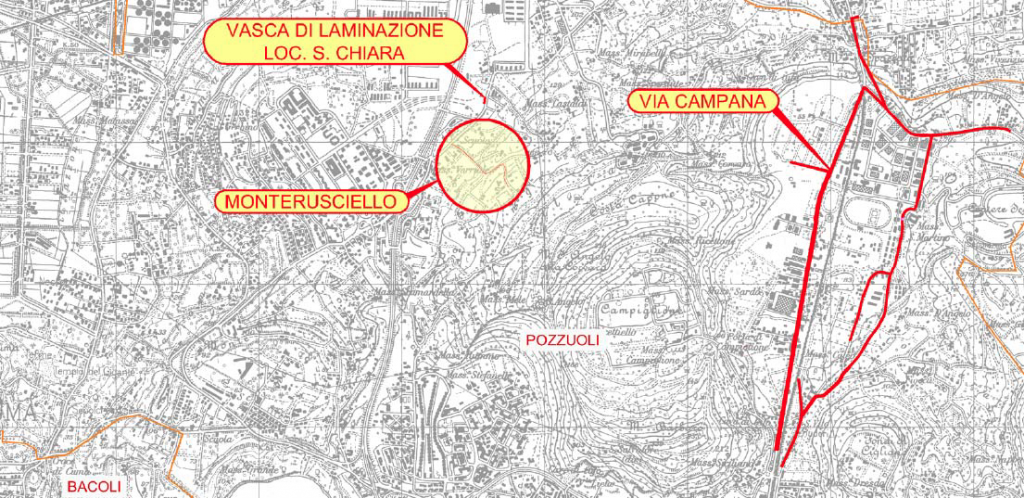 Nuova rete fognaria via Campana – Monterusciello