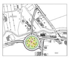 """Progettazione dei lavori per il miglioramento della sicurezza stradale della s.S. N° 7 """"appia"""" tra i km. 160+000 e 164+300"""