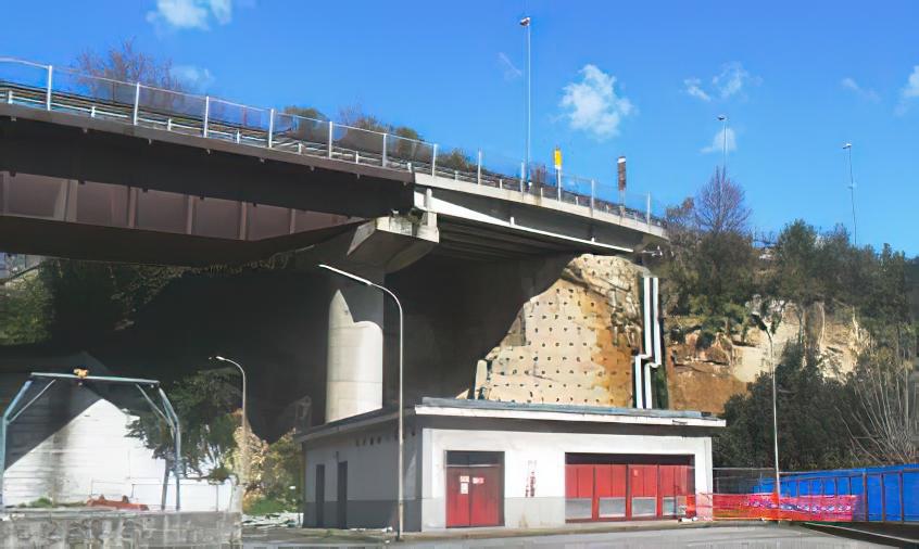 Interventi di messa in sicurezza sui costoni tufacei e sulle coltri piroclastiche prospicienti i piazzali dell'arin e dello svincolo zona ospedaliera della tangenziale di Napoli