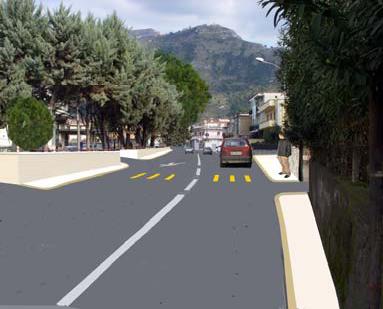 Sistemazione della via san valentino tratto piazza lago – rio san marino – comune di Sarno