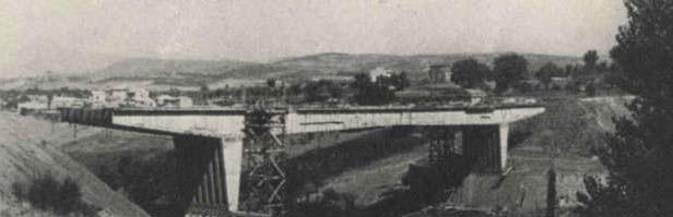 Verifica di sicurezza del ponte san Nicola nel comune di Benevento