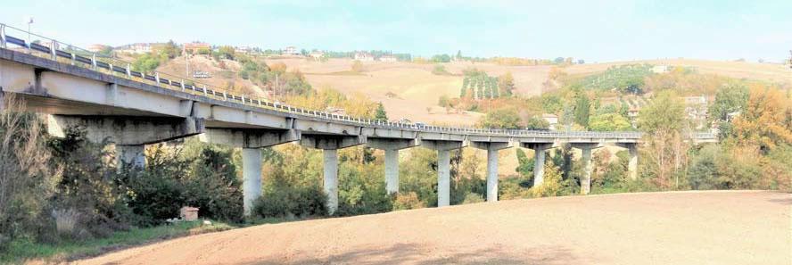 """Manutenzione straordinaria del viadotto di scavalco del fiume Ufita sulla S.S. 90 """"delle Puglie"""""""