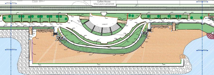 Progettazione delle opere strutturali nell'ambito dei lavori di riqualificazione del waterfront di Portici (Na)