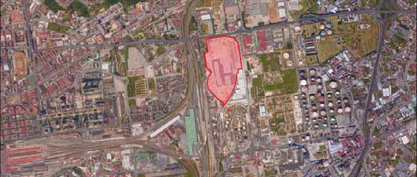 Realizzazione di una strada e di un parcheggio condominiale in ex area i.C.M.I, sita in Napoli alla via Ferrante Imparato n. 501 (ex lotto sc3)